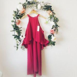 Mika Mindel Delia Cold Shoulder Dress